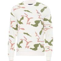 Blusa Masculina Camouflage - Off White