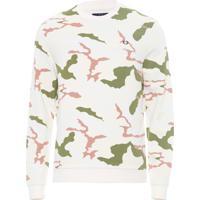 Blusa Masculina Camouflage - Off White