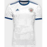Camisa Seleção Rússia Away 18/19 S/N° - Torcedor Adidas Masculina - Masculino
