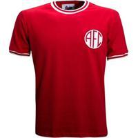 Camisa Liga Retrô America Rj 1974 - Masculino-Vermelho