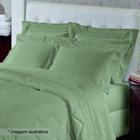Fronha Renascenã§A- Verde- 70X50Cm- 300 Fios-Buettner