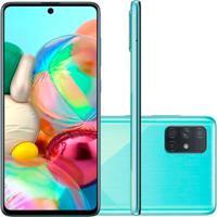 Smartphone Samsung Galaxy A71 128Gb 6Gb Ram Versão Global Azul