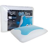 Travesseiro Duoflex Nasa Alto Gel Flex Branco