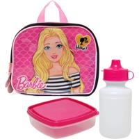 Lancheira Sestini P 2 Em 1 Barbie 19Z Rosa