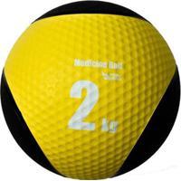 Medicine Ball Pista E Campo De Borracha Inflável Premium 2Kg - Unissex