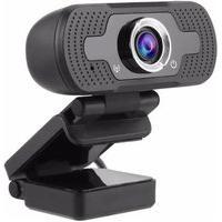 Câmera Para Computador Alta Resolução Usb Full Hd 1080P Com Microfone Embutido