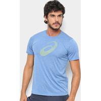 Camiseta Asics Running Pes Logo Masculina - Masculino