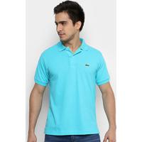 6f4ed8c0ff7 Netshoes  Camisa Polo Lacoste Piquet Original Fit Masculina - Masculino