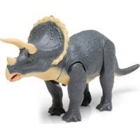Boneco Megassauro Dtc Triceratops Multicolorido