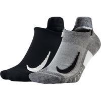 Meia Nike Multiplier Sem Cano (2 Pares)