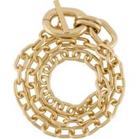 Paco Rabanne Wrap-Around Chain Bracelet - Dourado