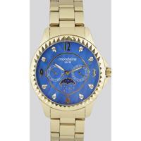 Relógio Analógico Mondaine Feminino - 78664Lpmvda2 Dourado