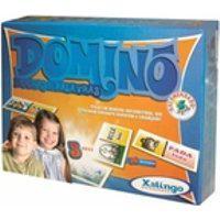 Domino Madeira Figuras E Palavras 52487 / Un / Xalingo