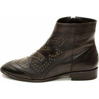 Bota The Box Project Armour Feminina - Feminino-Preto