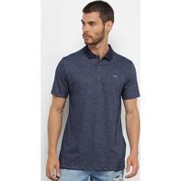 Camisa Polo Wg Logo Masculina - Masculino-Marinho