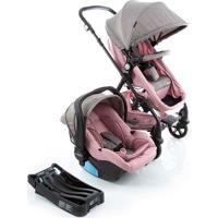 Carrinho De Bebê Travel System Poppy Trio-Cosco - Rosa