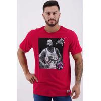 Camiseta Mitchell Ness Nba Toronto Raptors 15 Carter Vermelha