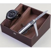 Kit De Relógio Analógico Mondaine Masculino + Canivete - 76695Gpmvph1Kz Preto