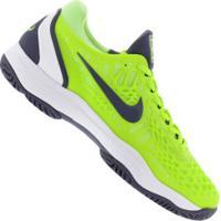 Tênis Nike Air Zoom Cage 3 Hc - Masculino - Verde Claro/Branco