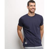 Camiseta Industrie Listras Costas Masculina - Masculino-Marinho
