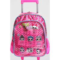 Mochilete Lol Surprise Infantil Grande Luxcel (Pink, G)