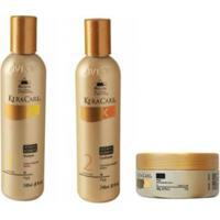 Kit Shampoo, Condicionador E Máscara Avlon Keracare - Unissex-Incolor