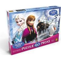 Quebra Cabeça 60 Peças Frozen - Grow - Disney