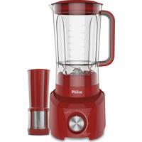 Liquidificador Vermelho 900W Britânia 127V Plq1010
