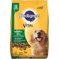 Ração Para Cães Pedigree Adultos Carne E Vegetais 3Kg