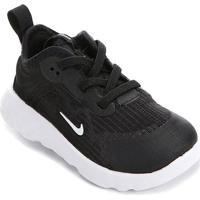 Tênis Infantil Nike Renew Lucent Td - Masculino-Preto+Branco