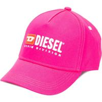 Diesel Kids Boné Com Logo - Rosa
