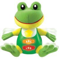 Pelúcia De Atividades - Meu Amigo Sabichão - Sapinho - Yes Toys - Unissex-Incolor