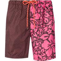 Paul & Shark Multi-Print Swimming Trunks - Rosa
