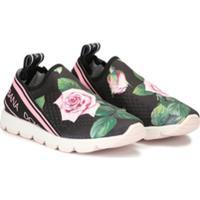 Dolce & Gabbana Kids Tênis Slip-On Sorrento - Estampado