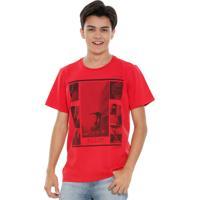 Camiseta Juvenil Estampa Esporte Radical Marisa