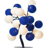 Árvore De Luz De Natal Jingle Bells Cormilu Azul