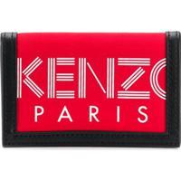 Kenzo Carteira Com Estampa Logo - Vermelho