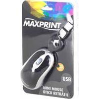 Mini Mouse Maxprint Óptico Retrátil Usb - 606563