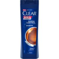 Shampoo Anticaspa Clear Men Queda Control 400Ml