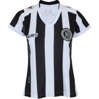 Camisa Do Asa De Arapiraca I 2017 Nº 10 Numer - Feminina - Preto/Branco