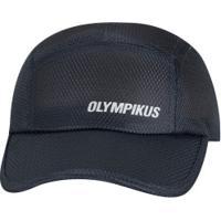 Boné Aba Curva Olympikus Essential - Strapback - Adulto - Azul Escuro