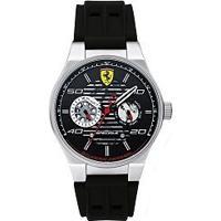 f1e3d0c0ab8 Relógio Scuderia Ferrari Masculino Borracha Preta - 830429