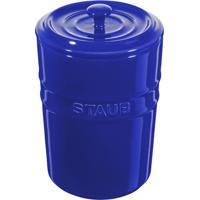 Porta Mantimentos De Cerâmica Staub Azul Marinho 1L - 24965