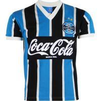 Camisa Grêmio Retrô Oldoni Coca-Cola 1989 N°8 Masculina - Masculino