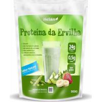 Proteína Concentrada Da Ervilha Viva Salute Pea Protein Sabor Natural - 500 G - Unissex