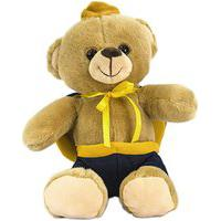 Urso De Pelúcia - Príncipe - Unik Toys Multicolorido