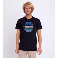 Camiseta Billabong Manga Curta Masculina - Masculino-Preto