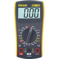 Multímetro Digital Hikari Hm-1100 - Cinza/Amarelo Cinza/Amarelo