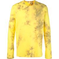 Helmut Lang Moletom Com Logo - Amarelo