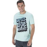 Camiseta Oxer Burpees - Masculina - Aqua